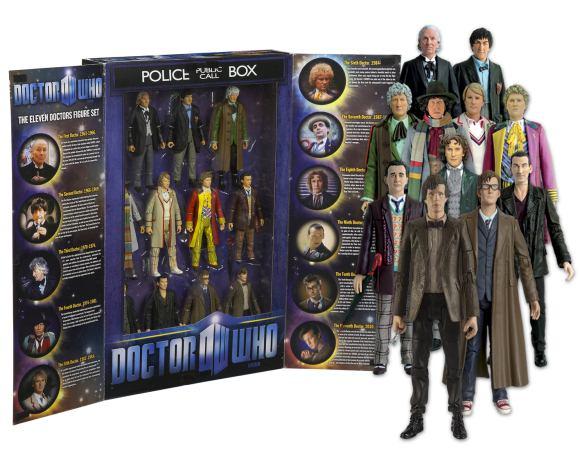03418 Eleven Doctors Figure Set Box