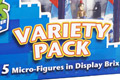 Character Building Doctor Who Display Brix Variety 5 Pack