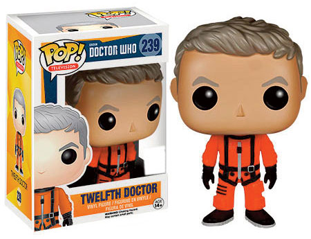 Funko Pop 12th Doctor In Spacesuit Uk Merchandise