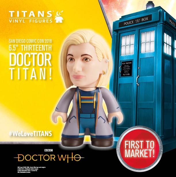 13th Doctor figure. 13-titan