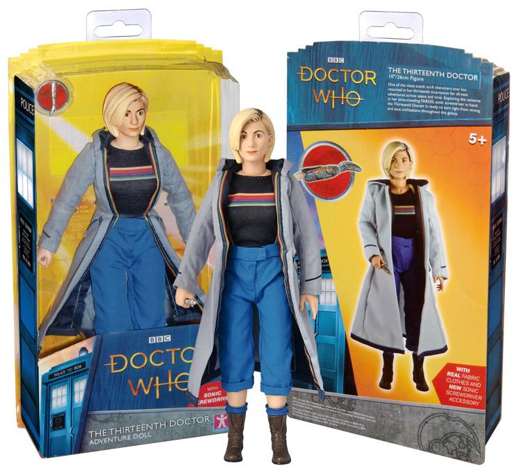 "13th Doctor 10"" figure. 13th-10-inch-box7503"