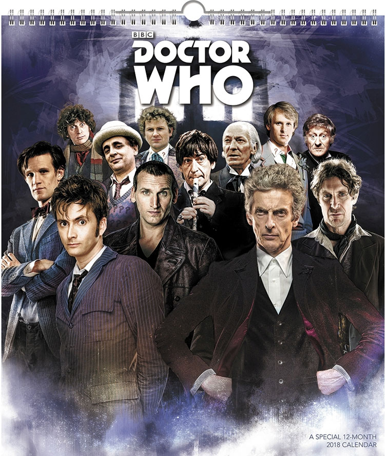 Doctor Who 2018 Special Edition Poster Calendar – Merchandise ...