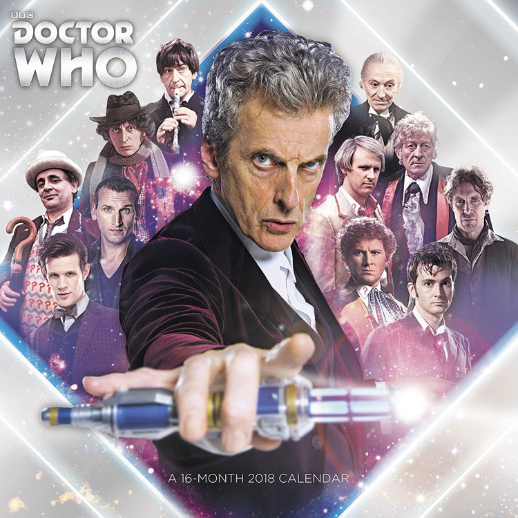 Doctor Who 2018 Calendar – Merchandise Guide - The Doctor Who Site