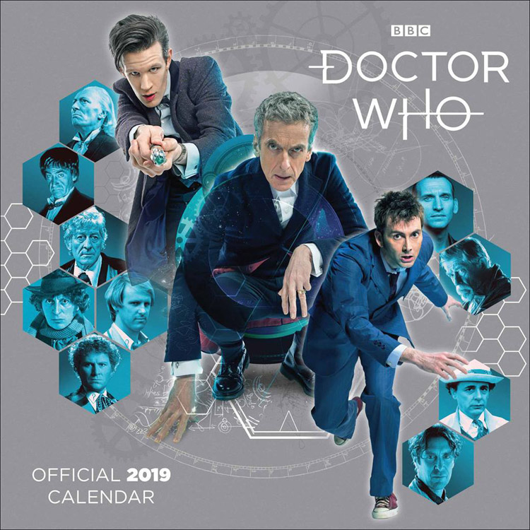 Dr Who Christmas Special 2019.Doctor Who Classic Edition Official 2019 Calendar