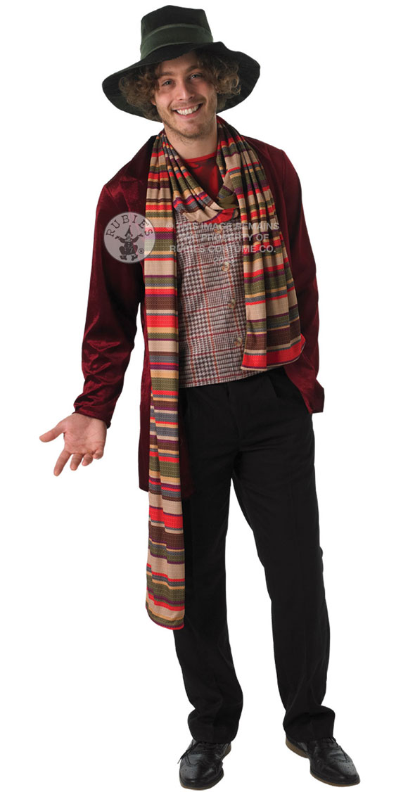 4th-costume  sc 1 st  Doctor Who Merchandise - The Doctor Who Site & Doctor Who u2013 Adult 4th Doctor Dress Up Costume u2013 Merchandise Guide ...