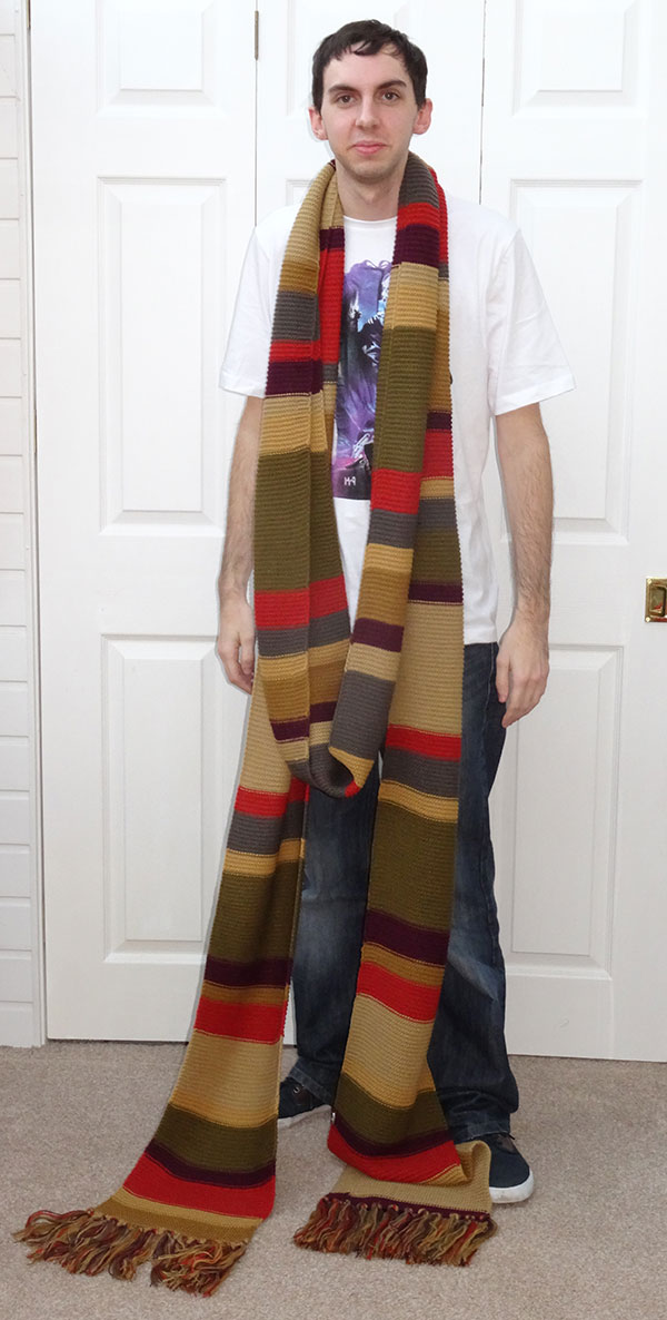 Lovarzi 4th Doctor Who Scarf  sc 1 st  Doctor Who Merchandise - The Doctor Who Site : the 4th doctor costume  - Germanpascual.Com