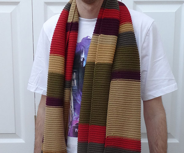 Lovarzi 4th Doctor Who Scarf