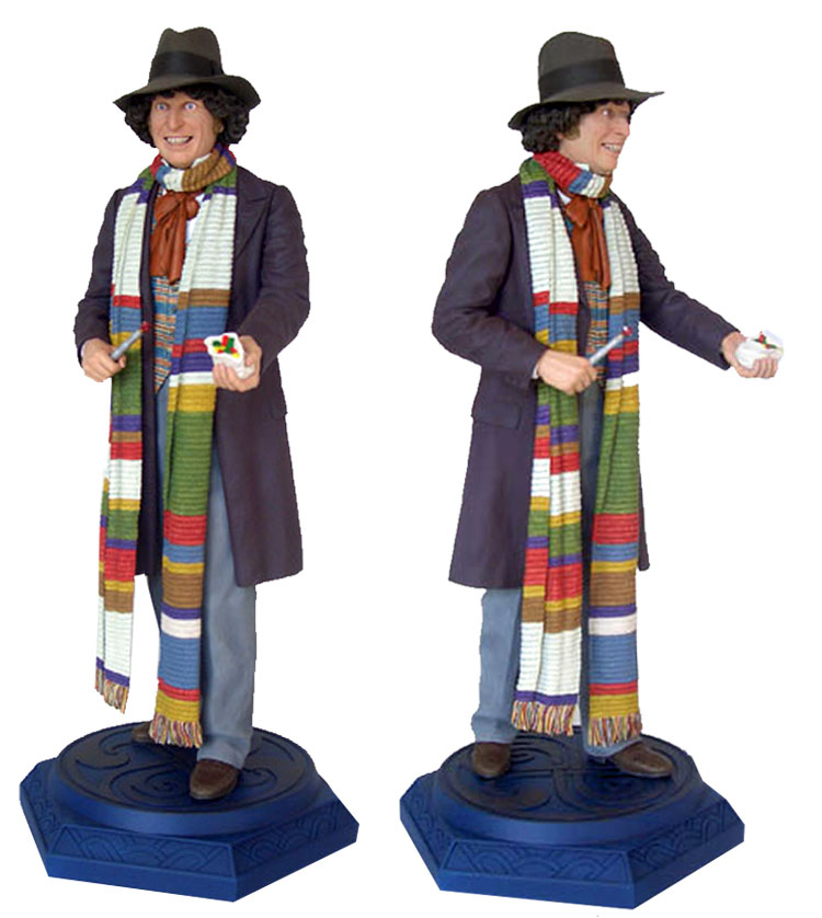 "4th Doctor Who Tom Baker Stagione 12 ROBOT Outfit 5/"" Classic Figura Sorridente Cappello"