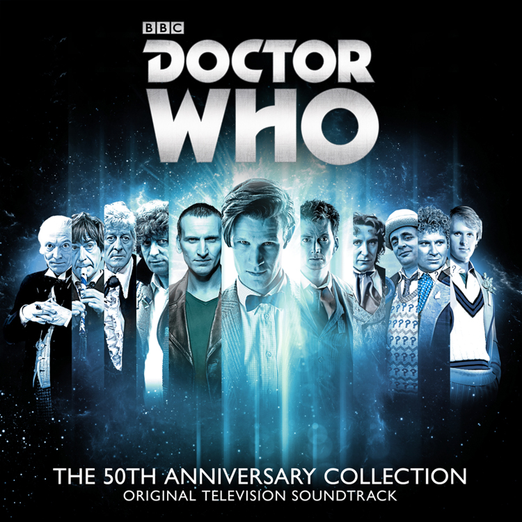 50th Anniversary Doctor Who 4 CD Soundtrack
