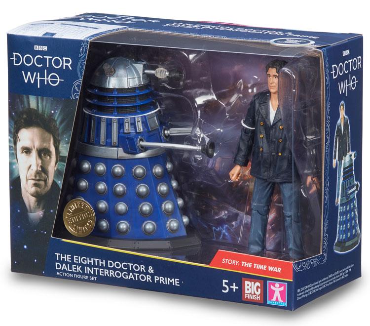 Doctor Who  B/&M 2019 The 8th Doctor /& Dalek  MIB.