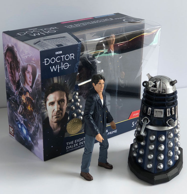 RARE Dr Who NO.19 /& NO.35 Early Dalek /& Ironside Dalek Double Set