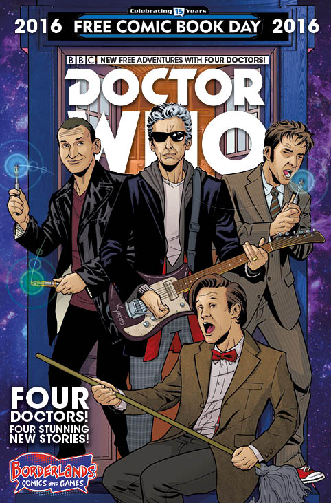 2016 Free Comic Day Four Doctors Borderlands Variant (USA