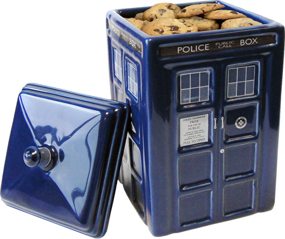 Doctor who tardis ceramic cookie jar merchandise guide the doctor who site - Tardis cookie jar ...