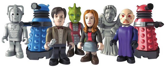 Character Building - Doctor Who, lego like Toys