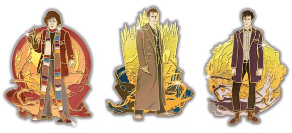 The Doctor's Regenerations Deluxe Enamels – Merchandise