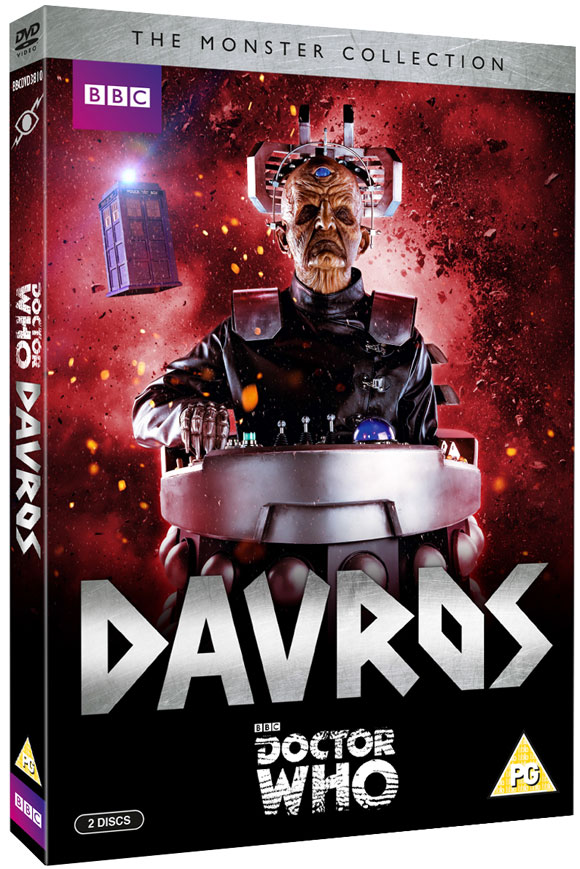 Doctor Who The Monster Collection Davros DVD � Merchandise Guide ...