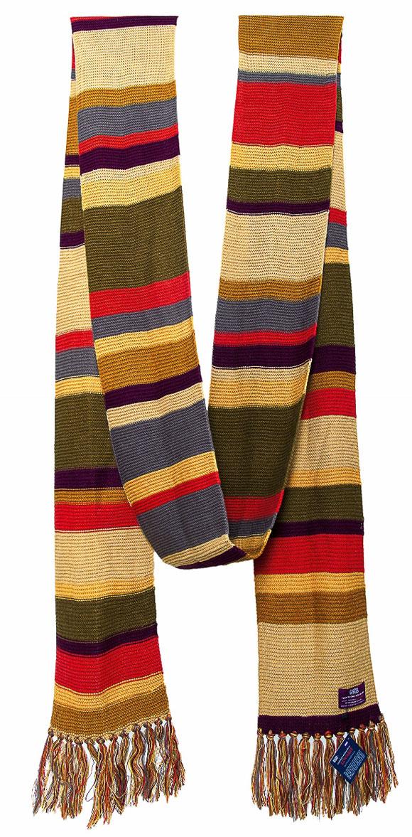 lovarzi 4th doctor season 16 17 scarf 18 ft