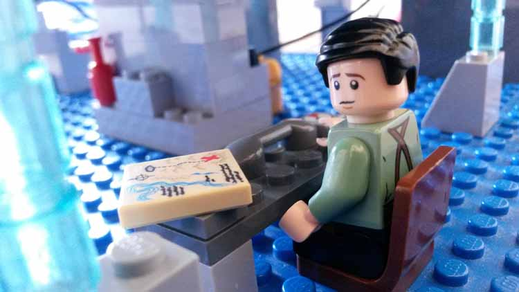 Lord Doctor's Lego Tardis (10)