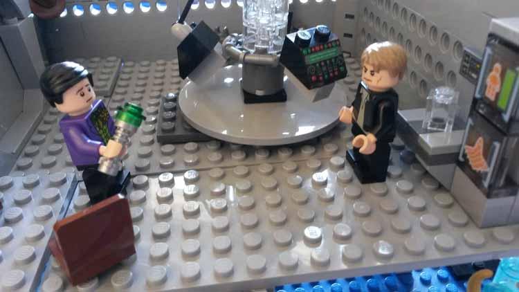 Lord Doctor's Lego Tardis (11)