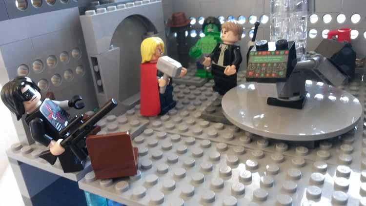 Lord Doctor's Lego Tardis (13)