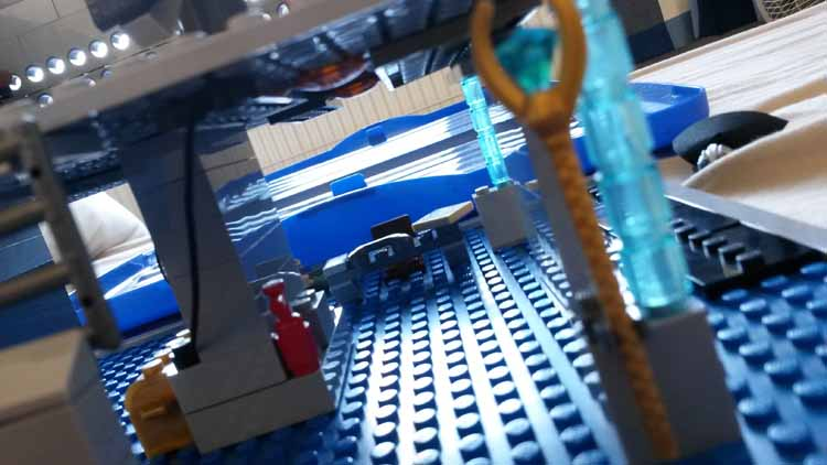 Lord Doctor's Lego Tardis (8)