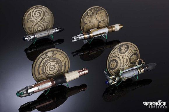 Rubbertoe Replicas Gallifreyan Coasters Stands Merchandise Guide