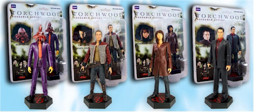 Torchwood Exclusive Limited Edition Captain John Hart Figure LAST FEW