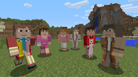 Doctor Who comes to Minecraft on Xbox Update – Merchandise ...
