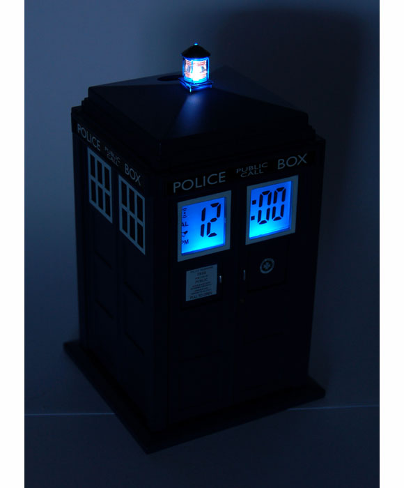 Doctor who tardis projection alarm clock merchandise guide the doctor who site - Tardis alarm clock ...