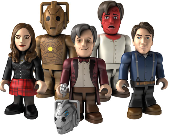 Doctor Who 11th Eleventh Doctor Character Building micro-figure