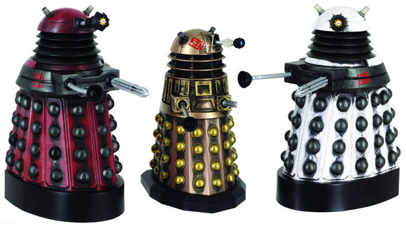 Doctor Who Figures Assylum-set