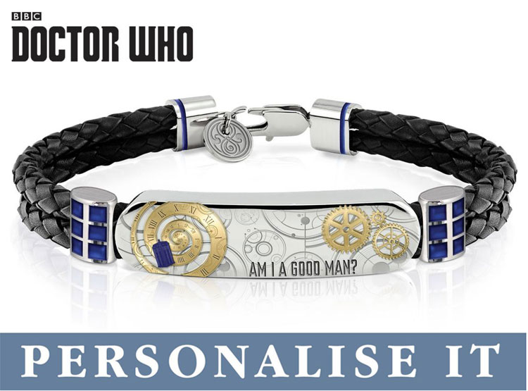Bradford Exchange Doctor Who Time Lord Personalised Wristband