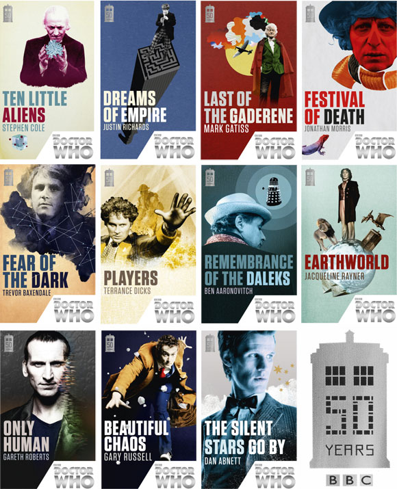 doctor who 50th anniversary book set