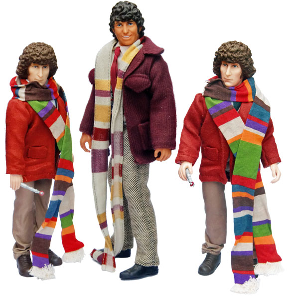 Denys Fisher//Mego Original DOCTOR WHO Accessories RED JACKET FOR THE DOCTOR