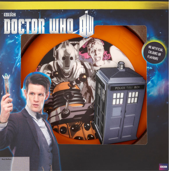 Doctor Who Sponge Celebration Cake Merchandise Guide