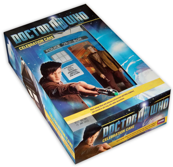 Doctor Who 2010 celebration cake Merchandise Guide The Doctor