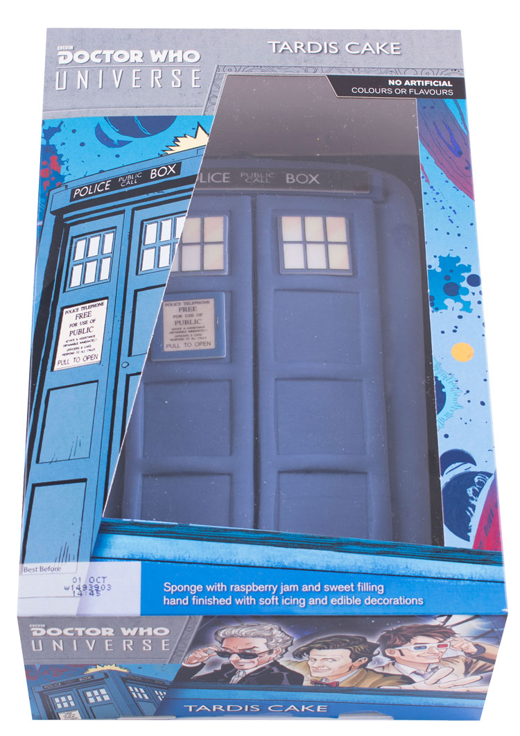 Surprising Doctor Who Universe Tardis Cake Merchandise Guide The Doctor Funny Birthday Cards Online Inifodamsfinfo