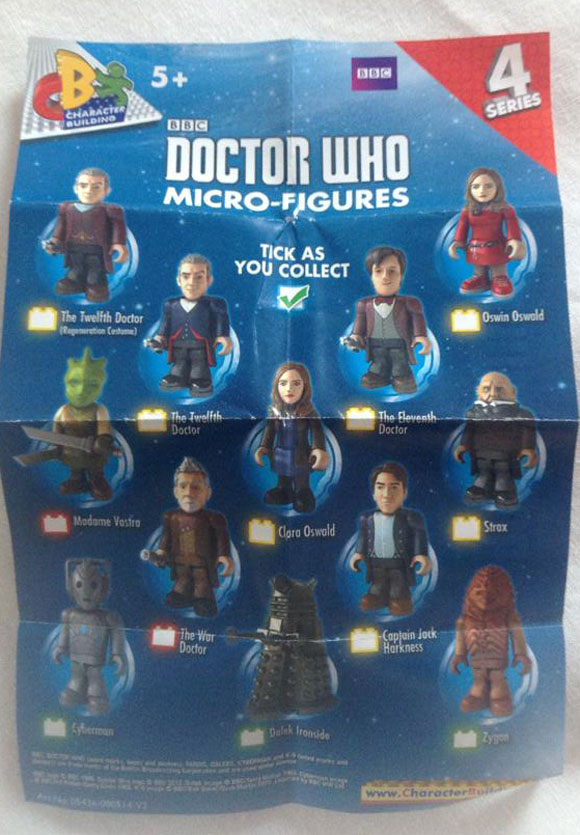 Doctor Who Figures Cb43