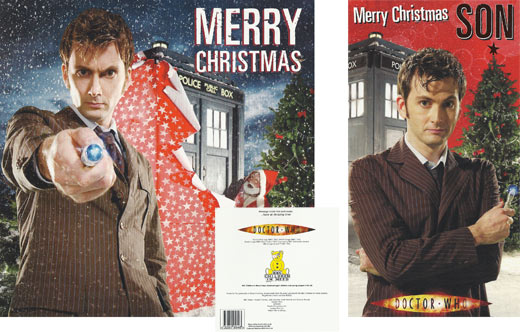 Doctor Who Christmas Cards.Christmas Cards Merchandise Guide The Doctor Who Site