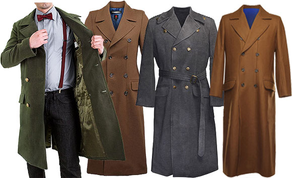 Image result for doctor who coats