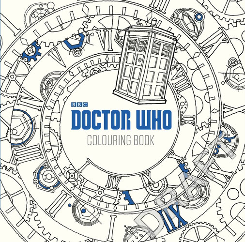 Free Coloring Pages Of Tardis In Time Vortex
