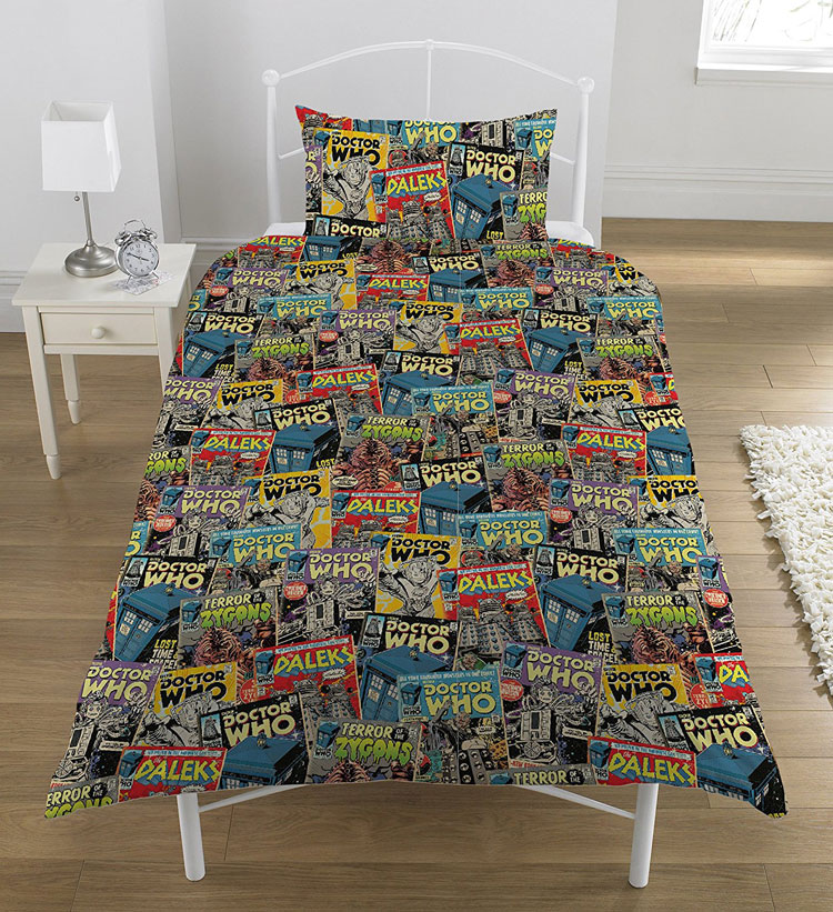 Doctor Who Double Duvet Cover and