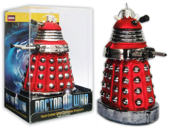 BBC Shop Doctor Who Christmas Ornaments – Merchandise Guide - The ...