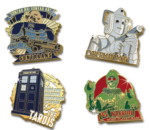 The Danbury Mint Doctor Who Pin Collection – Merchandise