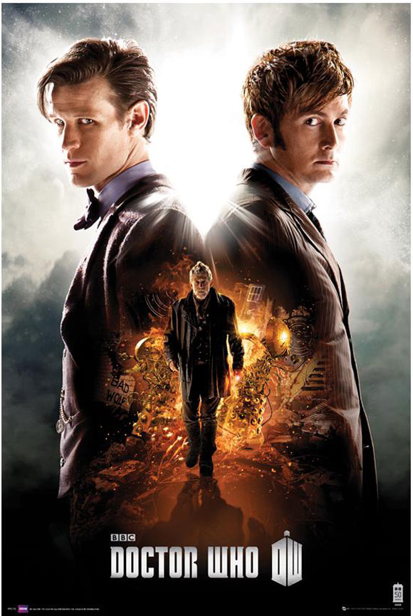 doctor who poster the day of the doctor � merchandise