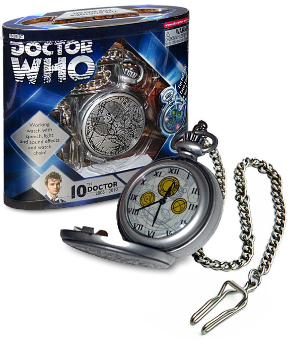 doctor who fob watch instructions