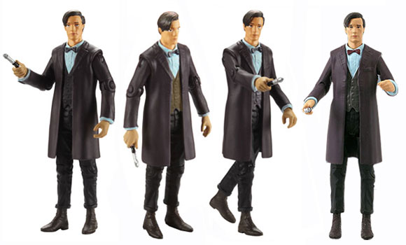 New 3.75″ 11th Doctor Brown Waistcoat Variant