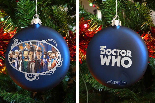 Doctor Who Tree Decorations – A Closer Look – Merchandise ...