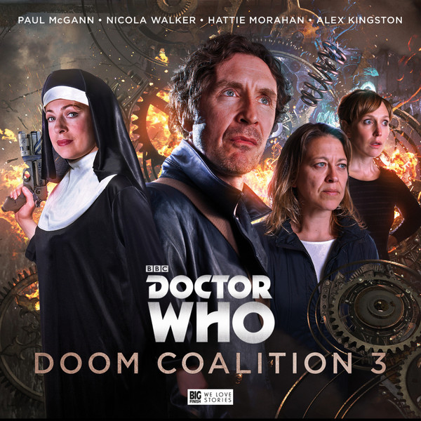 8th Dr Doctor Who The Banquo Legacy BBC EDA Tardis Fitz Compassion Paul McGann