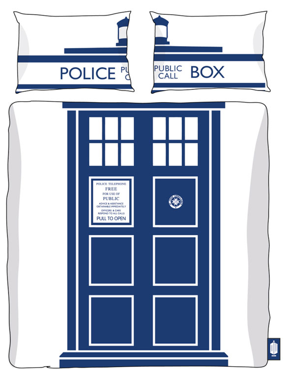 Doctor Who Tardis Single / Double Duvet Sets – Merchandise Guide ...